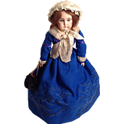 "15"" - 1890's Long Face Open-Closed Mouth Kestner Doll"