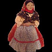 Wonderful Turn of the Century Russian Gypsy Doll