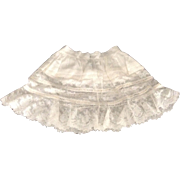 "Wonderful 14"" Ruffled Lace Petticoat"