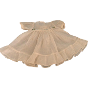 Darling 1930's Batiste Doll Dress