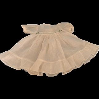 Darling 1930's Batiste Doll Dress