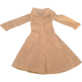 """Lovely 1953 """"Miss Curity""""  Doll Dress"""