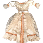 Beautiful 2-Piece Satin Outfit For A Fashion Doll