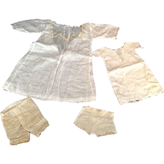 Early Factory Doll Clothing