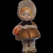 """Cute 3-1/4"""" Nodder Doll"""