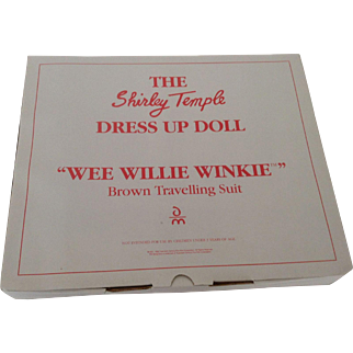 """Shirley Temple Outfit """"Wee Willie Winkie"""" - Danbury Mint 1966"""