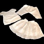 Vintage 3-Piece Undergarment Set