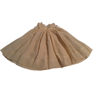 Beautiful Silk Blend Smock For A Antique Doll