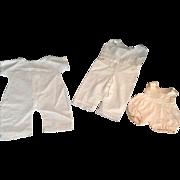 3 1-Piece Doll Undergarments