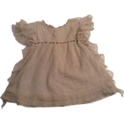 "Very Nice Vintage 14"" Net Doll Dress With Ruffles"