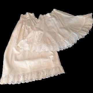 2 Nice Vintage Doll Petticoats