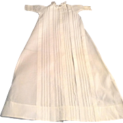 """Nice 18"""" Doll Christening Gown"""
