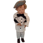 "16-1/2"" Schoenhut ""Walker"" Doll"