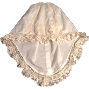 Beautiful Vintage Petticoat With Lace Ruffles For A Fashion Doll