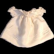 "6"" Vintage Silk Blend Doll Dress"