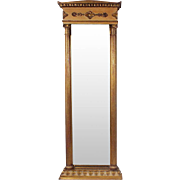 19th Century French Gilt Mirror in Empire-Style