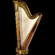 19th Century T Dodds London N.582 Musical Harp