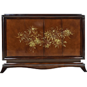 Early 1900s French Chinoiserie Dry-Bar