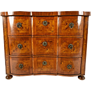19th Century Continental Inlaid Chest of Drawers