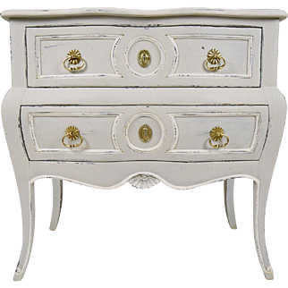 Single Vintage Louis XV-style Small Chest of Drawers
