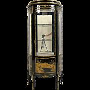 Antique French Chinosiere-style One-Door Vitrine