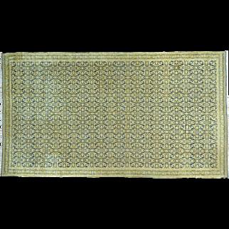 Antique Laristan Exc Condition Handmade Gallery Size Rug Sh25826