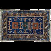Antique Caucasian Karakchli 18th Century Exc Cond Hand-Knotted Rug