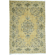 Hand-Knotted Antique Persian Kerman Exc Cond Oriental Rug