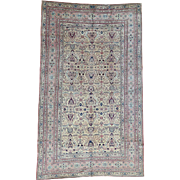 Antique Turkish Sivas Mint Cond Gallery Size Hand-Knotted Rug