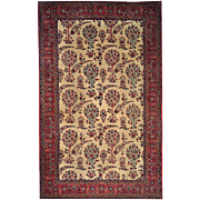 Hand Knotted Rug 10'x16' Gallery Mint Condition Persian Antique Lavar Kerman