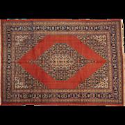 Antique Original Persian Tabriz Oriental Rug Handmade Mint Cond Sh20037