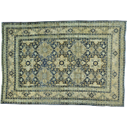 Antique Persian Kerman Exc Cond Hand Knotted Oriental Rug Sh25861