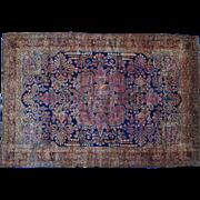 Antique Persian Mohajeran Sarouk Oversize Rug Sh26427
