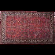 Antique Persian Sarouk Tree Design Gallery Size Rug Sh26876