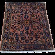 Full Pile Antique Persian Sarouk Mint Cond Handmade Rug Sh28120