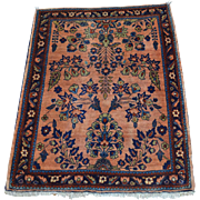 Full Pile Antique Persian Sarouk Hand Knotted Mint Cond Rug Sh28121