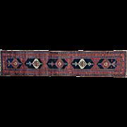 Wide Runner Antique Persian Bidjar Good Cond Hand Knotted Rug Sh28699