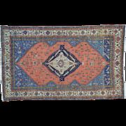 Oversize Antique Persian Serapi Good Cond Oriental Rug Sh30129