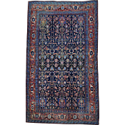 Oversize Antique Persian Senneh Pure Wool Oriental Rug Sh30130