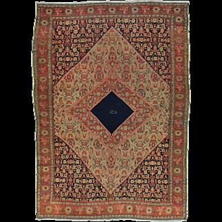 Antique Persian Senneh Exc Cond Signed Handmade Oriental Rug Sh30157