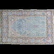 Antique Persian Tabriz Tree of Life Good Cond Oriental Rug Sh30180
