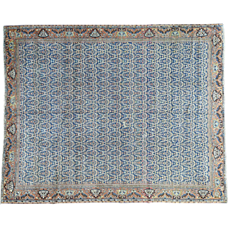 Antique Persian Mahal Paisley Design Exc Cond Oriental Rug Sh30265