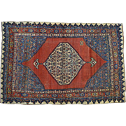 Antique Persian Bidjar Pure Wool Hand Knotted Oriental Rug Sh30275