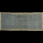 Gallery Size Antique Persian Fereghan Sarouk Even Wear Rug Sh32028