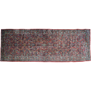 Hand-Knotted Antique Persian Sarouk Gallery Size Exc Cond Rug Sh32132