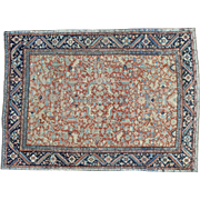 Antique Persian Heriz All Over Design Oriental Even Wear Rug Sh32139