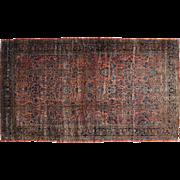 Antique Persian Sarouk Maharajan Handmade Oversize Rug Sh32151