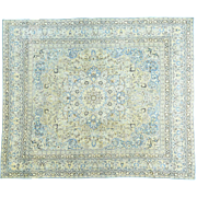 Antique Persian Tabriz Mint Cond Hand-Knotted Oversize Rug Sh32155