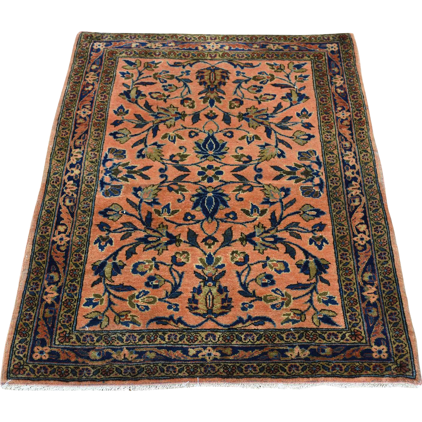 carpet for small bedroom antique manchester kashan mat knotted rug 14706