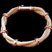 18K Yellow Gold Italian Bracelet